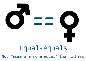 men-and-women-double-equal-sign-gender-equality